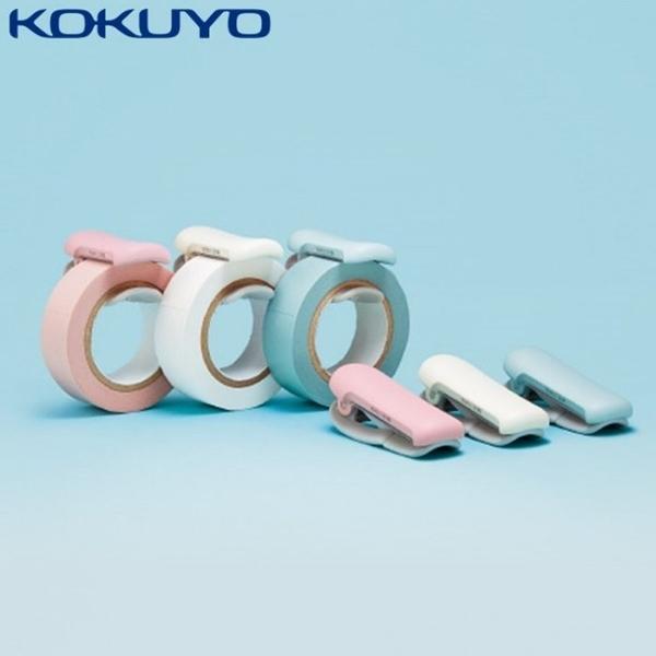 耀您館★日本KOKUYO紙膠帶切割器T-SM401(大)簡易膠台KARUCUT和紙膠帶切割夾攜帶型膠台紙膠帶專用膠