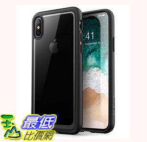 [106美國直購] 手機保護殼 iPhone X Case [Scratch Resistant] i-Blason Clear [Halo Series] for Apple iPhone X