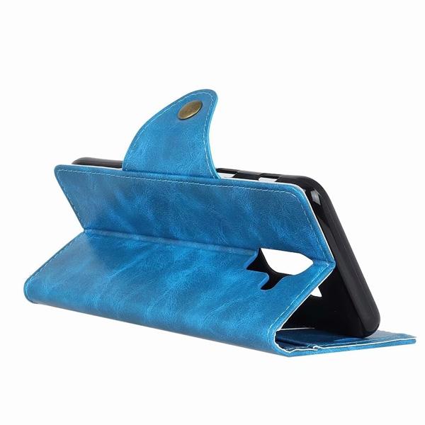 三星 J6 J4 J8 A8 2018 A6+ 銅釦牛紋 手機皮套 插卡 支架 軟殼 皮質 皮套