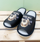 【震撼精品百貨】大頭狗_The Dog~室內拖鞋~米格魯黑色#00750