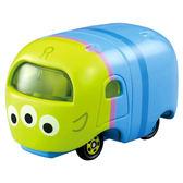 迪士尼多美小汽車 Tsum Tsum 三眼怪小汽車模型玩具/金屬模型車/兒童玩具(可堆疊) [喜愛屋]