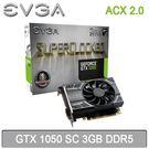【免運費】EVGA 艾維克 GTX 1050 3G SC ACX2.0 3GB DDR5 顯示卡 03G-P4-6153-KR