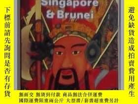二手書博民逛書店英文原版罕見Malaysia, Singapore & Brun