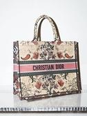 ■專櫃88折■ 全新真品■Dior 多色 Dior Flowers Book Tote 包