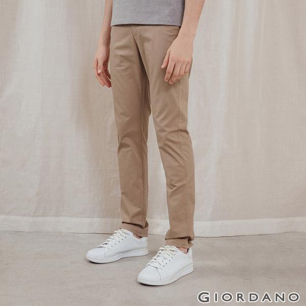 基本款彈性低腰長褲