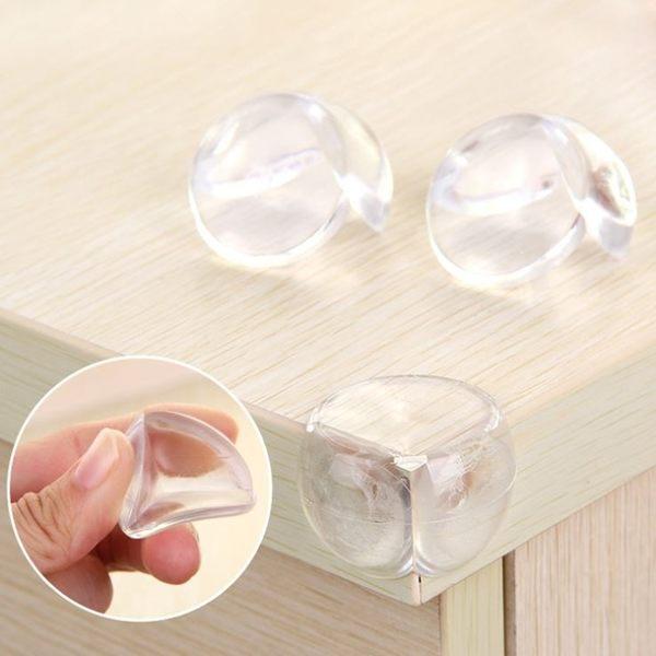 [拉拉百貨]桌角安全保護套 球型軟膠透明防撞 寶寶安全 家具護套 加厚護角 包角