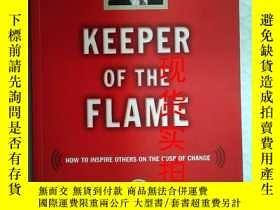 二手書博民逛書店Keeper罕見of the flame 英文英語原版Y2384