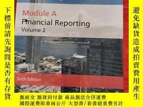 二手書博民逛書店Qualification罕見Programme Module A Financial Reporting Vol
