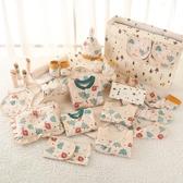 嬰兒衣服純棉新生兒禮盒套裝秋冬季剛初出生0-3個月寶寶滿月用品