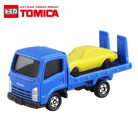 日貨 TOMICA No.60 ISUZU ELF VEHICLE TRANSPORTER 五十鈴 車輛搬運車 真車系列 汽車模型 多美小汽車