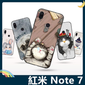 Xiaomi 小米 紅米機 Note 7 彩繪Q萌保護套 軟殼 卡通塗鴉 超薄防指紋 全包款 矽膠套 手機套 手機殼