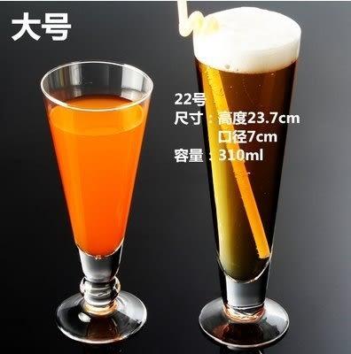 創意玻璃杯果汁杯子啤酒杯熱飲料杯水杯奶茶杯檸檬杯奶昔杯紮啤杯 至少2個起下標022