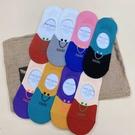 韓國襪子 微笑撞色 女襪 隱型襪 船型襪 短襪 休閒襪 學生襪 腳裸襪 防止滑矽膠
