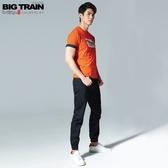 BigTrain吸濕快乾仿丹寧束口褲-男-黑色-S.M.L.XL