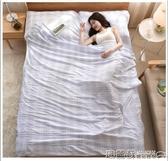 睡袋 隔臟睡袋成人戶外旅行酒店賓館雙人被套旅游便攜式非純棉防臟床單 8號店WJ