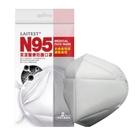 【1/21~1/29年節暫停出貨,年後出貨】 萊潔 N95 醫療防護口罩-白 (2入/包)【杏一】