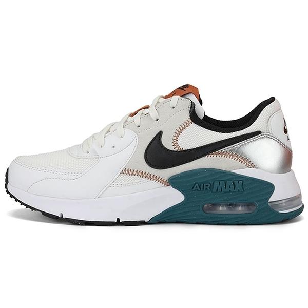Nike Air Max Excee 男鞋 慢跑 休閒 氣墊 避震 白黑棕 【運動世界】 CD4165-107