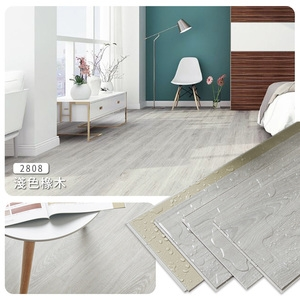 【Incare】北歐風木紋防水SPC卡扣地板(42片/約2.8坪)SPC-淺橡木