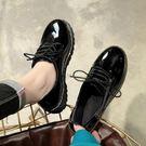 鞋子女2018新款春季單鞋軟妹小皮鞋學生百搭原宿女鞋【快速出貨好康八折】
