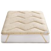 加厚羊毛床墊1.8m床褥墊子保護墊1.5米榻榻米墊被褥子學生宿舍1.2CY『新佰數位屋』
