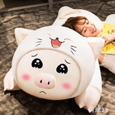 豬豬公仔毛絨玩具床上娃娃陪你睡抱枕可愛生日圣誕節禮物女生超軟 FX2358 【科炫3c】