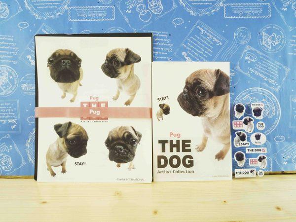 【震撼精品百貨】新大頭狗_The Dog~信紙組-巴哥