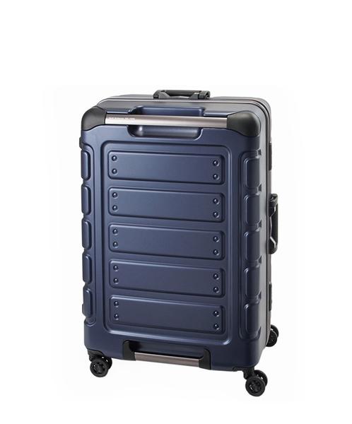 CROWN皇冠  Traveler Station 悍馬鋁框箱 行李箱/旅行箱22吋-藍色 CFE258
