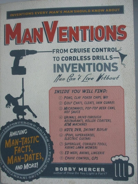 【書寶二手書T1/歷史_AFX】Manventions: From Cruise Control to Cordless..._Mercer