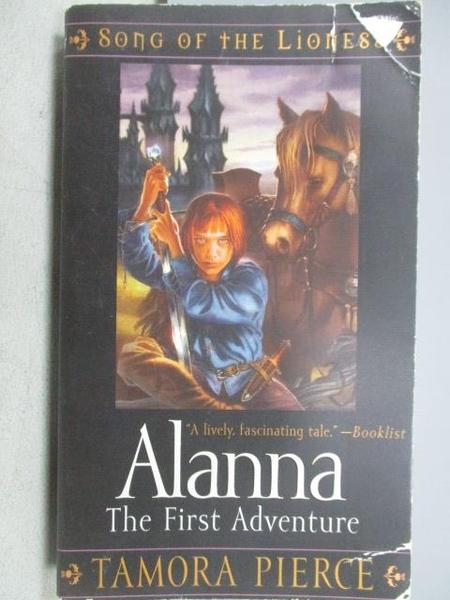 【書寶二手書T6/原文小說_CPZ】Alanna_The First Adventure_Tamora Pierce