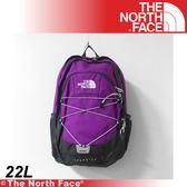 【The North Face 22L 風格雙肩背包《紫紅灰》】A93G-TU3/電腦包/旅行包/後背包/休閒★滿額送