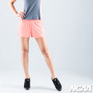 運動短褲 吸濕排汗 慢跑褲 NCAA (活力橘)