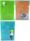 【震撼精品百貨】LINE FRIENDS_饅頭人、熊大、、詹姆士~A4 L文件夾 『共3款』