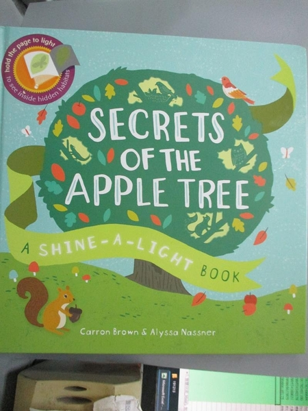 【書寶二手書T8/語言學習_PLF】Secrets of the Apple Tree: A Shine-a-light