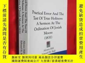 二手書博民逛書店Pracical罕見Error And The Test Of