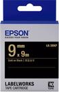 LK-7TBN EPSON 標籤帶 (透明底黑字36mm) C53S657404