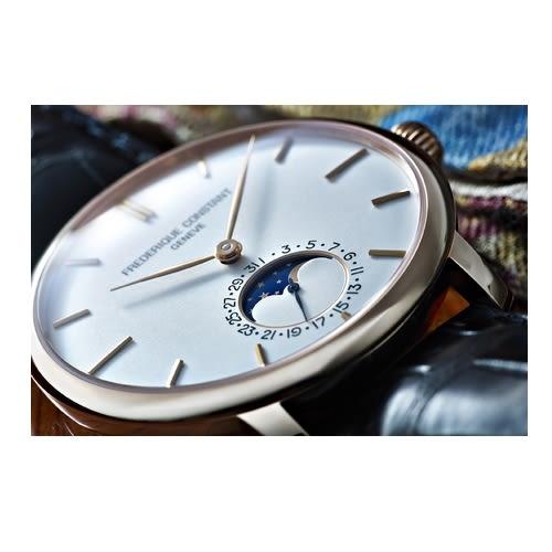 CONSTANT 康斯登/月相高雅時尚腕錶/705V4S4