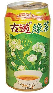 古道 綠茶罐 335ml