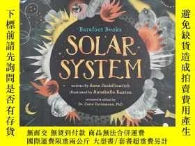 二手書博民逛書店Barefoot罕見Books Solar System 太陽系