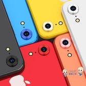 iPhone鏡頭貼 蘋果XR鏡頭膜iPhonexr后攝像頭保護圈xr手機后膜鋼化貼膜 6色