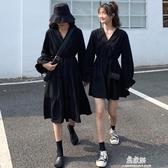 春秋季洋裝不一樣的閨蜜姐妹裝裙子女氣質顯瘦(快速出貨)