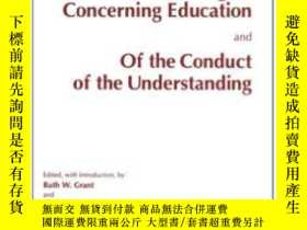 二手書博民逛書店Some罕見Thoughts Concerning Education And Of The Conduct Of
