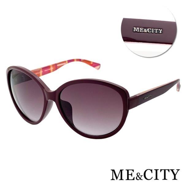 【南紡購物中心】【SUNS】ME&CITY 歐美格紋時尚太陽眼鏡 抗UV(ME 120003 E441)
