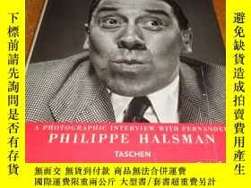 二手書博民逛書店2手英文罕見Philippe Halsman Frenchman