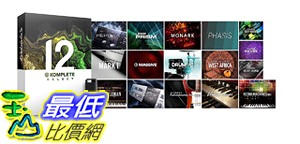 [8美國直購] 暢銷軟體 Native Instruments Komplete 12 Select Software Suite