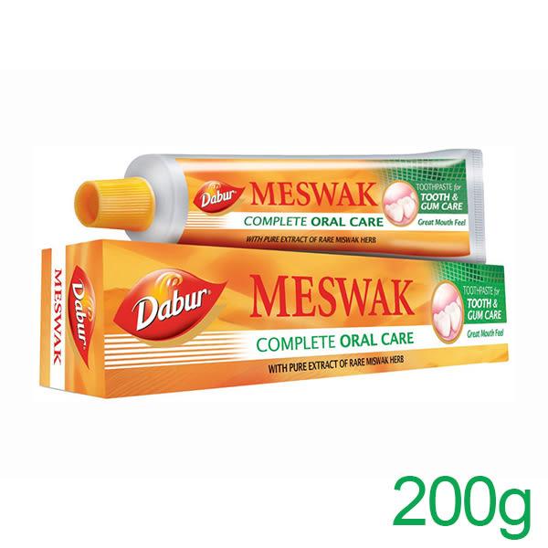 印度 Dabur 草本刷牙樹全效呵護牙膏 200g【PQ 美妝】