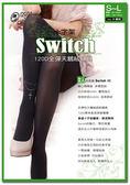 【蒂巴蕾】Switch 120D 全彈天鵝絨褲襪 十字架 (12入組)
