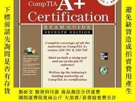 二手書博民逛書店Comptia罕見A+ Certification All-in-one Exam Guide, Seventh