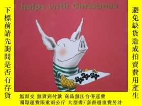 二手書博民逛書店OLIVIA罕見help with ChristmasY25624