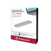 創見 固態硬碟外接盒 【TS-CM80S】 M.2 2242 2260 2280 SSD 套件 新風尚潮流