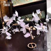 新娘頭飾手工發箍發帶花朵頭飾 易樂購生活館